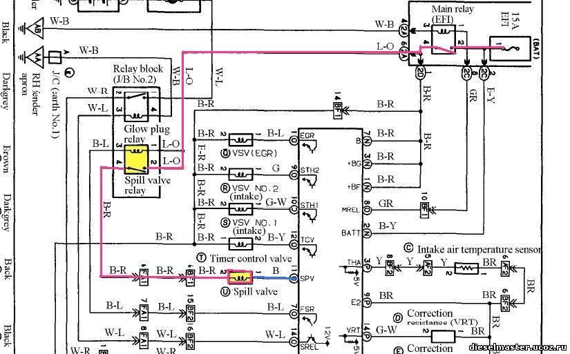 Электрическая схема 1kz