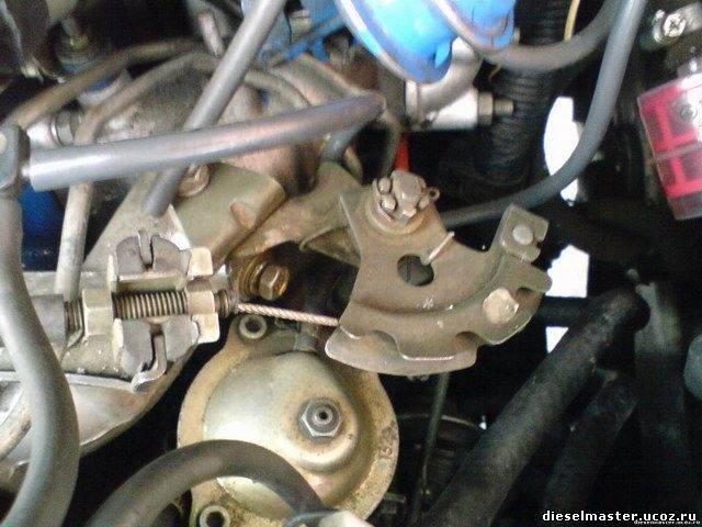 возможно ли заменить электронный тнвд на механический двигатель mazda r2